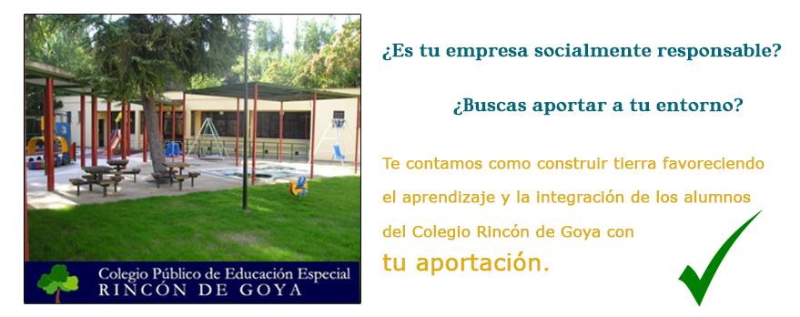 Colegio Educación Especial Rincón de Goya
